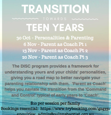 Transitioning to Teen Years